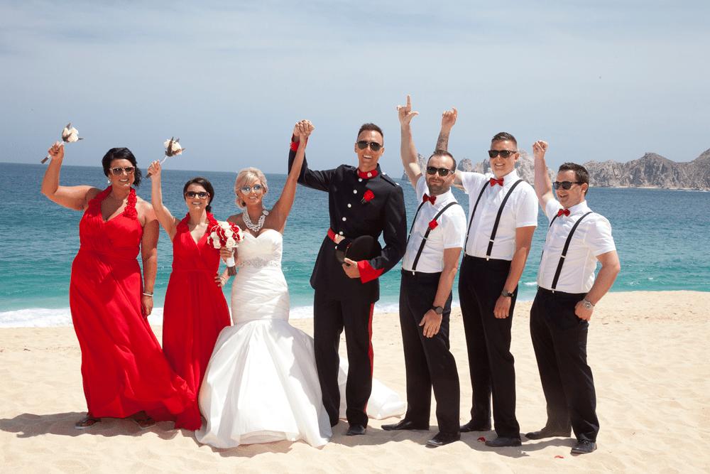 Mexico Los Cabos Liz Moore Weddings celebrates weddings on beach
