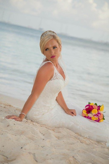 Dreams La Romana- Liz Moore Destination Weddings loves this brides picture