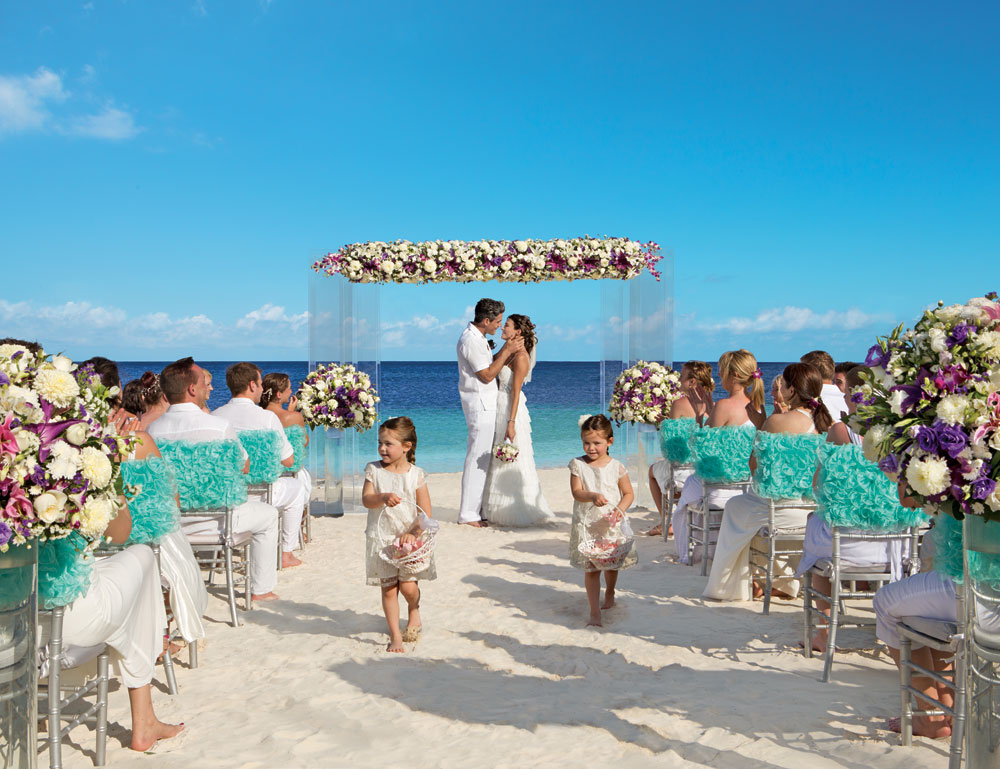 Dreams Wedding Beach