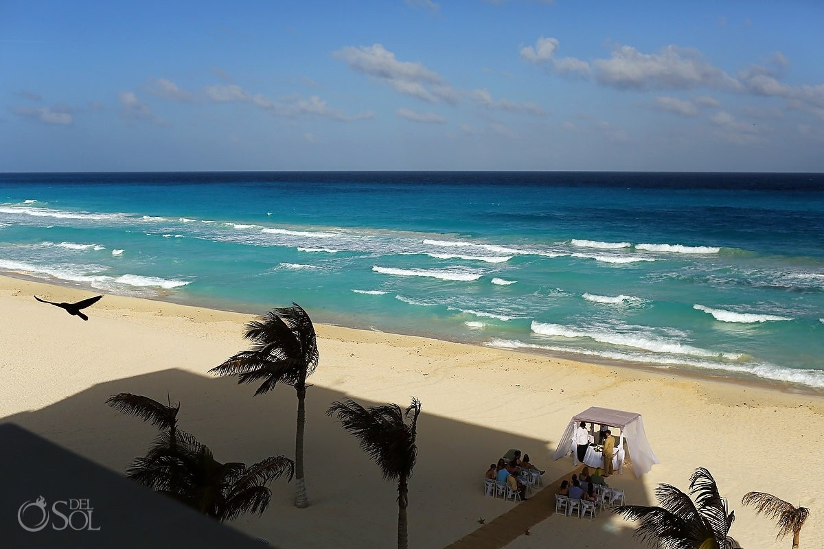 Gran Caribe Real Resort Cancun Weddings on the Beach