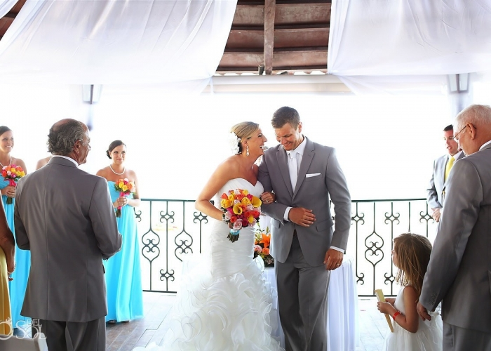 Gran Caribe Real Resort Cancun Destination Wedding