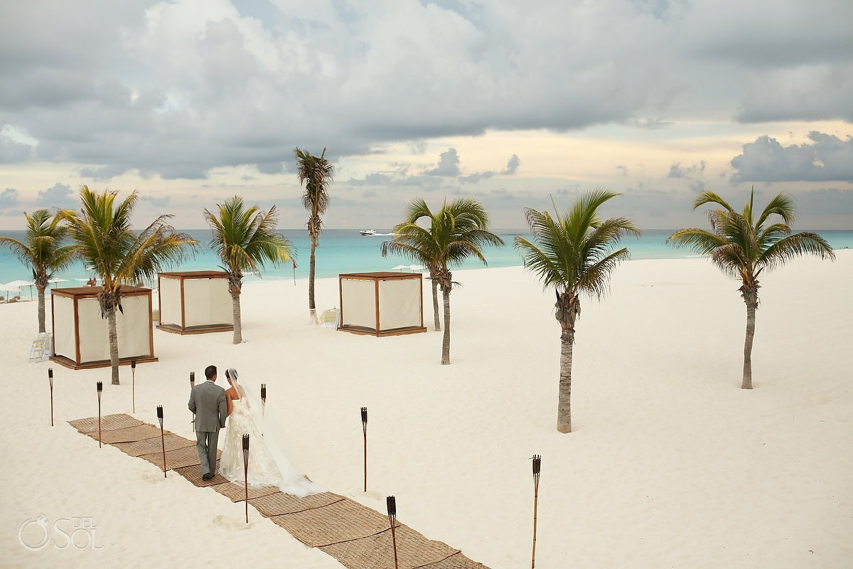 Mexico destination wedding packages Le Blanc Spa Resort Cancun