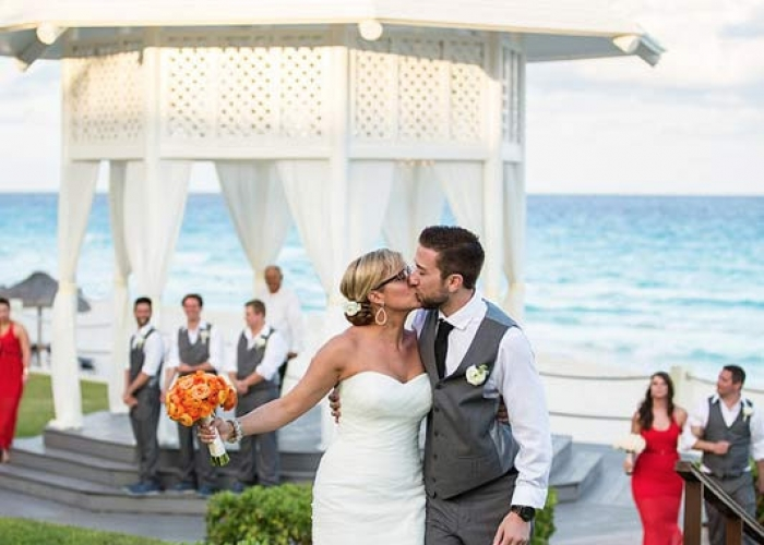 Paradisus cancun destination wedding