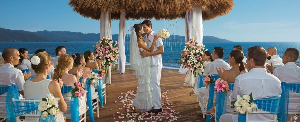 Mexico destination wedding Secrets Vallarta Bay