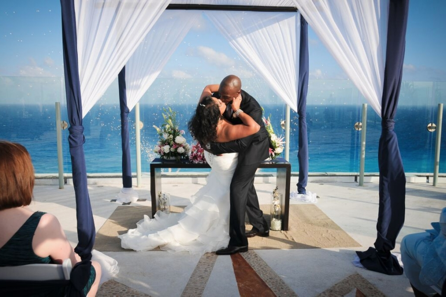 Beach Palace Cancun Destination Wedding