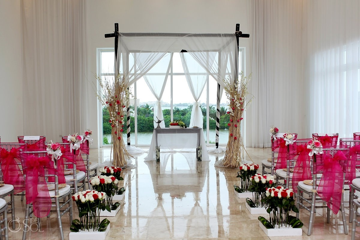 Mexico wedding Le Blanc Spa Resort Cancun