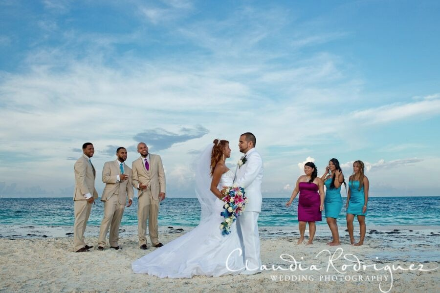 Mexico wedding Riu Caribe Cancun