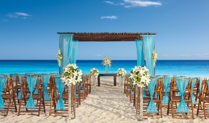 Mexico all inclusive wedding Paradisus Cancun