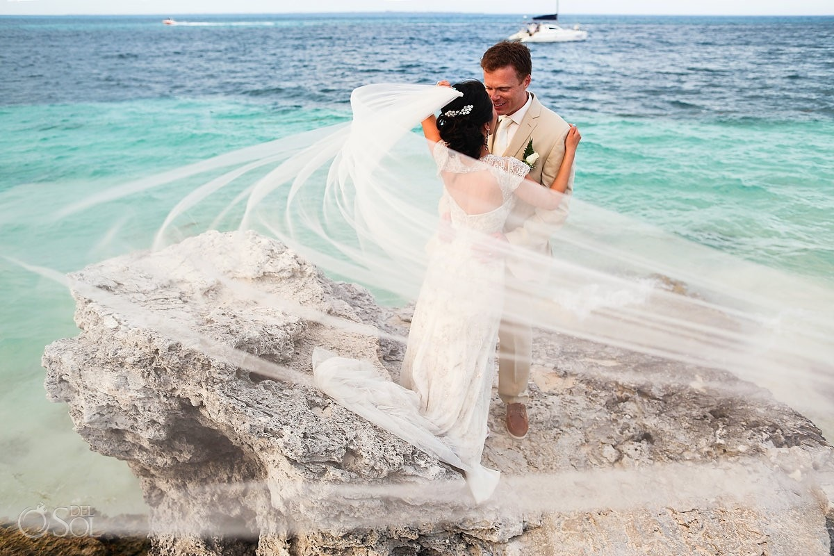 Mexico destination wedding Cancun Riu Palace Peninsula
