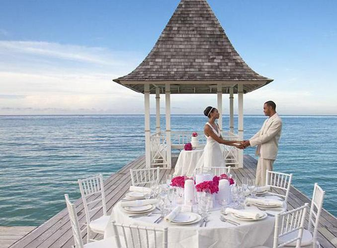 The Best Destination Wedding Locations In The Caribbean: Sandals Royal Plantation