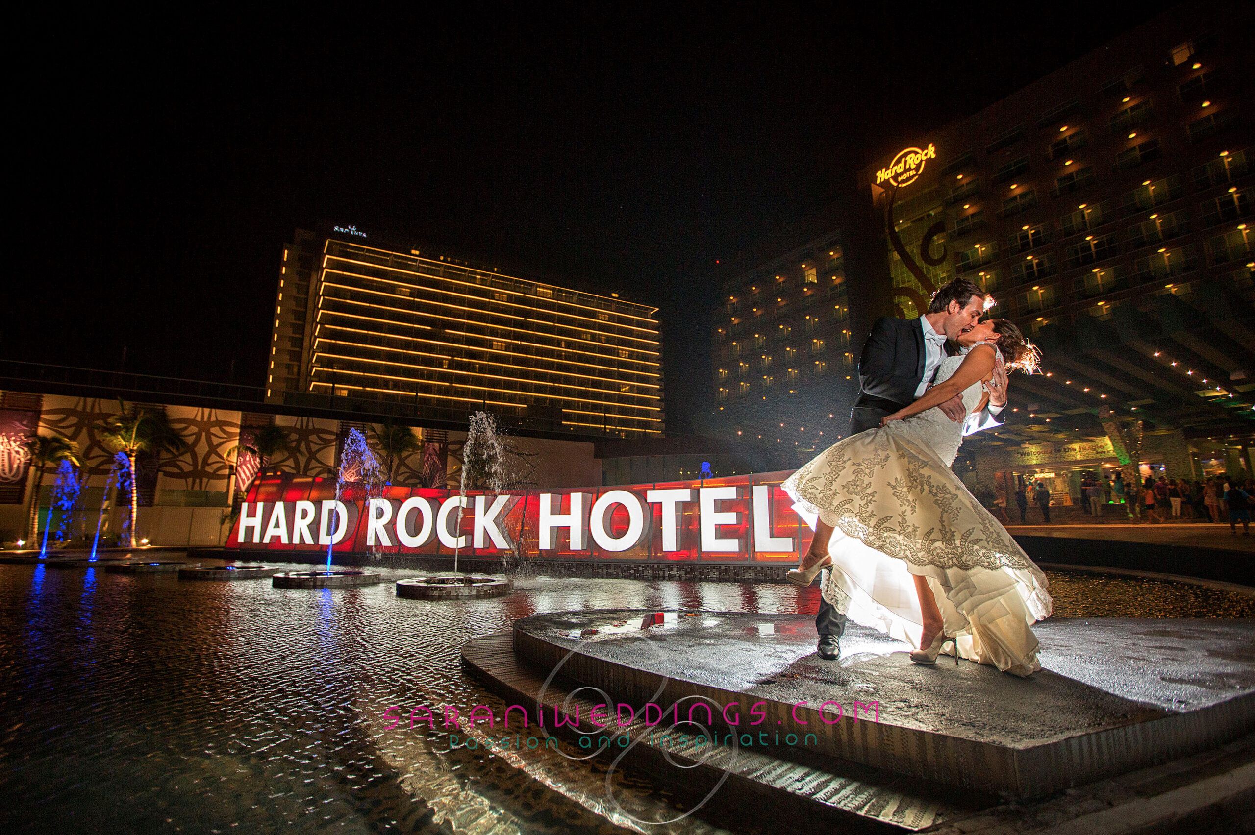 Mexico wedding packages Hard Rock Hotel Cancun