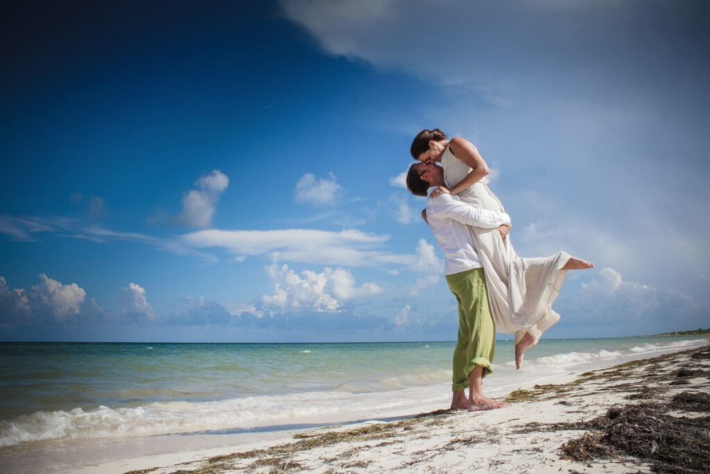 Mexico destination wedding packages Moon Palace Cancun Sunrise