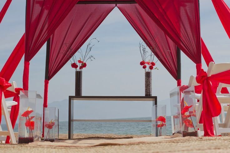 Mexico all inclusive wedding Secrets Vallarta Bay
