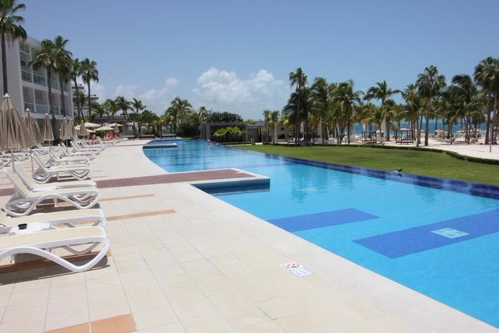 Mexico Cancun Riu Palace Peninsula Wedding Resorts
