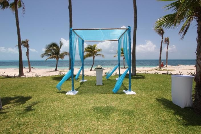 Mexico Cancun Riu Peninsula Beach Wedding Package