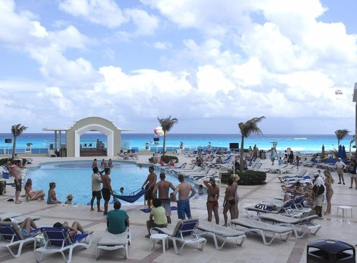 Gran Caribe Real Resort Cancun All-Inclusive Destination Wedding