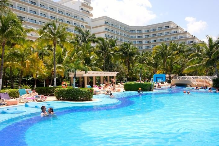 Mexico  beach wedding packages Riu Caribe Cancun