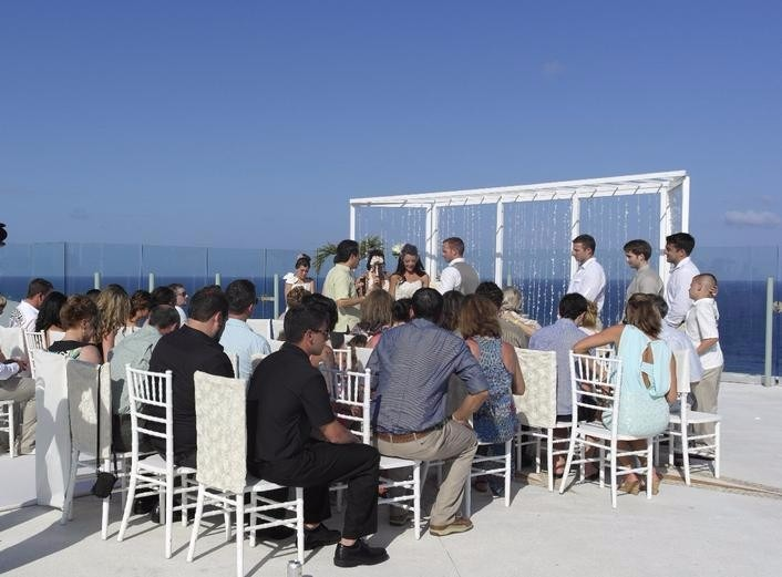 Beach Palace Cancun Sky Terrace Wedding