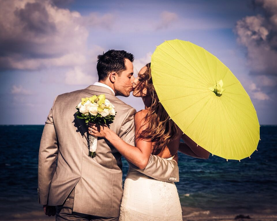 Mexico beach wedding packages Moon Palace Cancun Sunrise