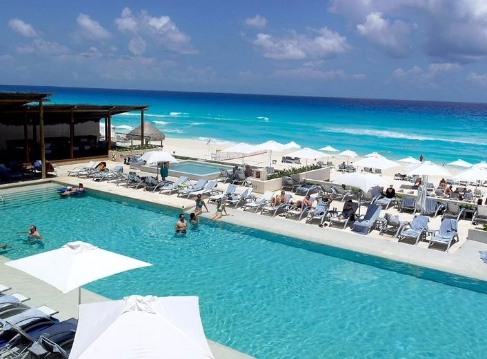 Mexico Destination Wedding Packages Cancun Secrets The Vine