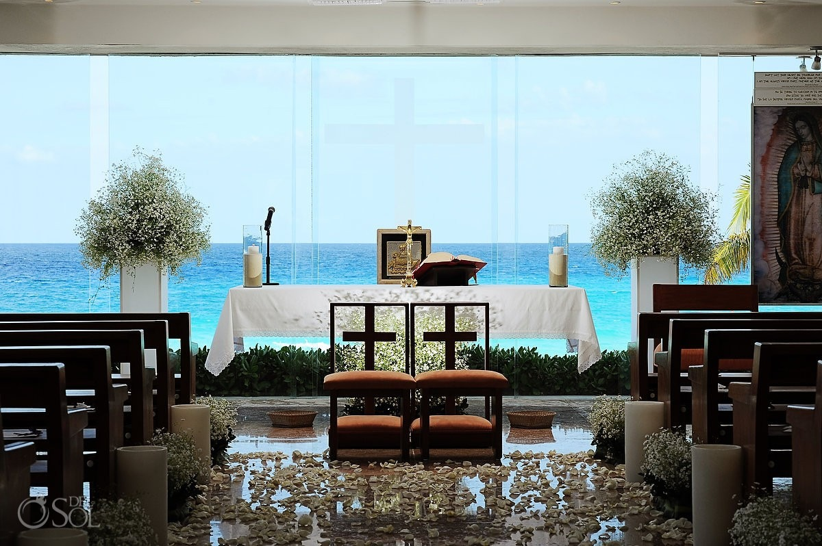 Gran Caribe Real Resort Cancun Wedding Destination