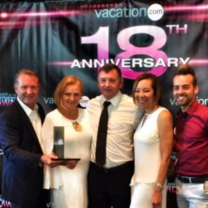 Vacation.com Award