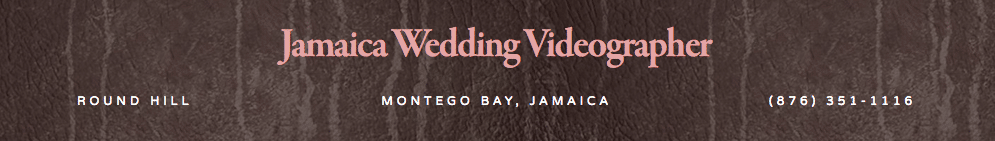 Jamaica Wedding Videographer