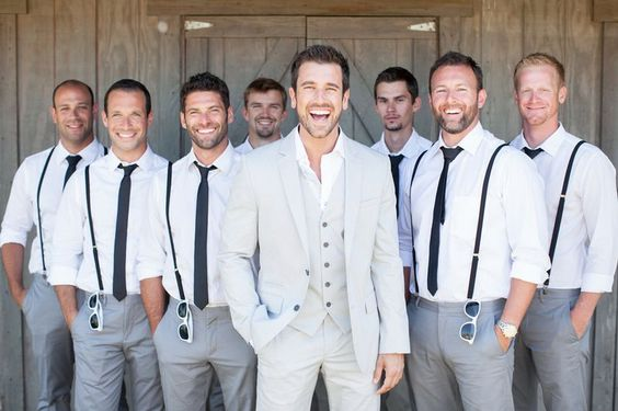 Men's Destination Wedding Attire