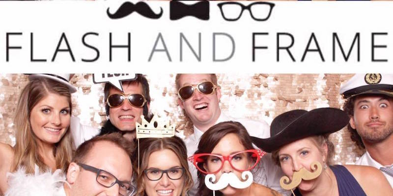 Flash and Frame Photo Booth | Okanagan Weddings