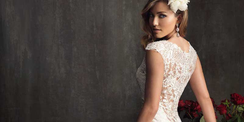 low back lace wedding dresses