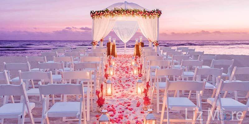 Sunset Destination Wedding
