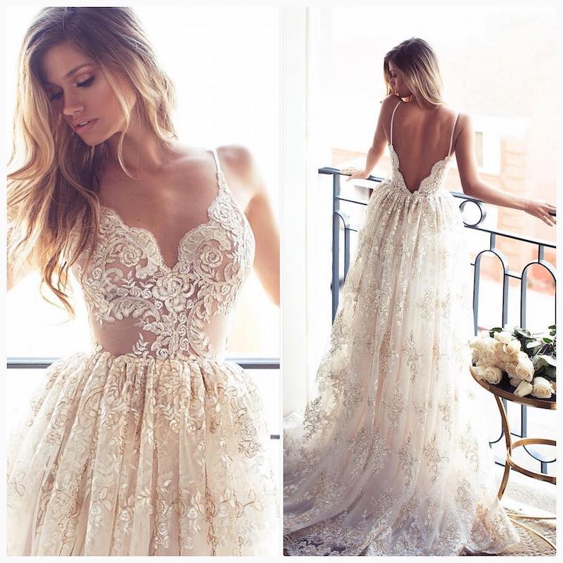 Summer Destination Wedding Dresses