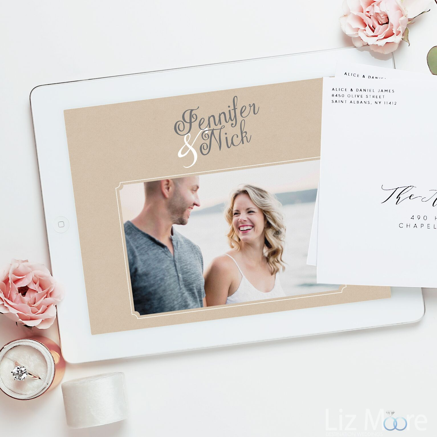 Basic Invitation: Fabulous Engagement Invitation Options
