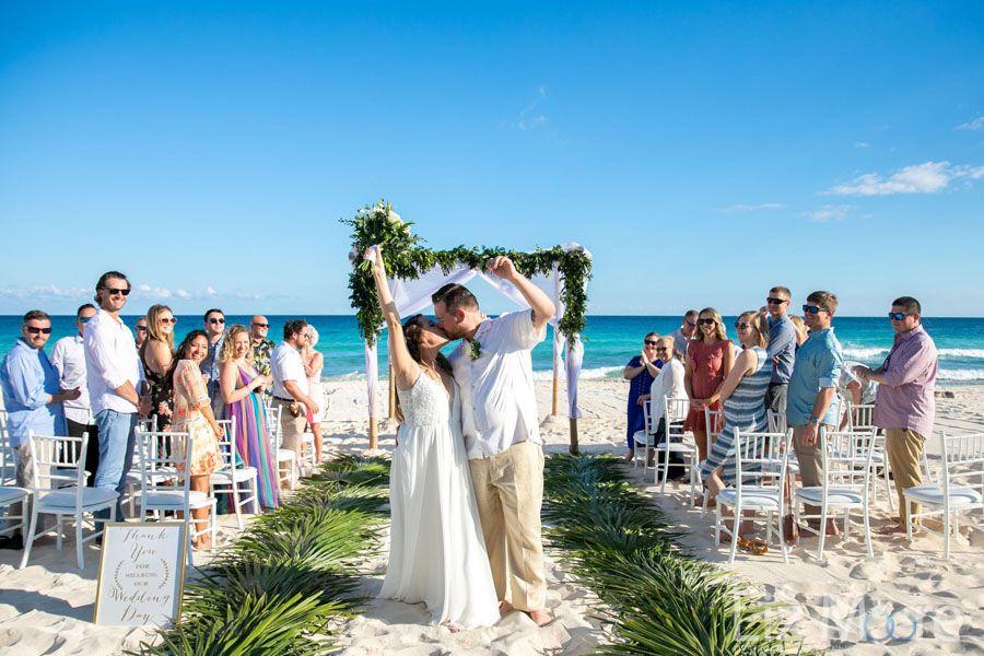 Valentin Imperial Resort Destination Wedding Beach