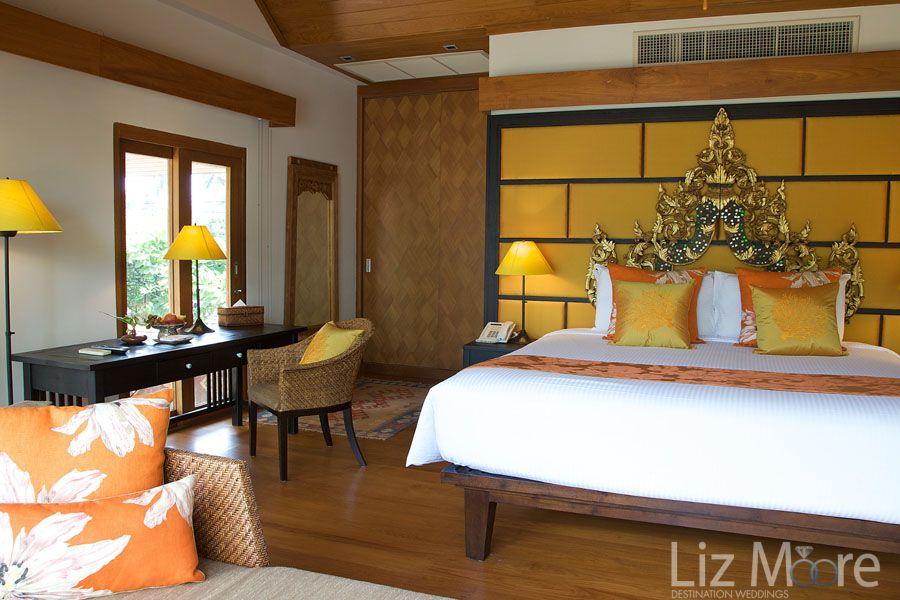 Thailand Destination Wedding room accommodations