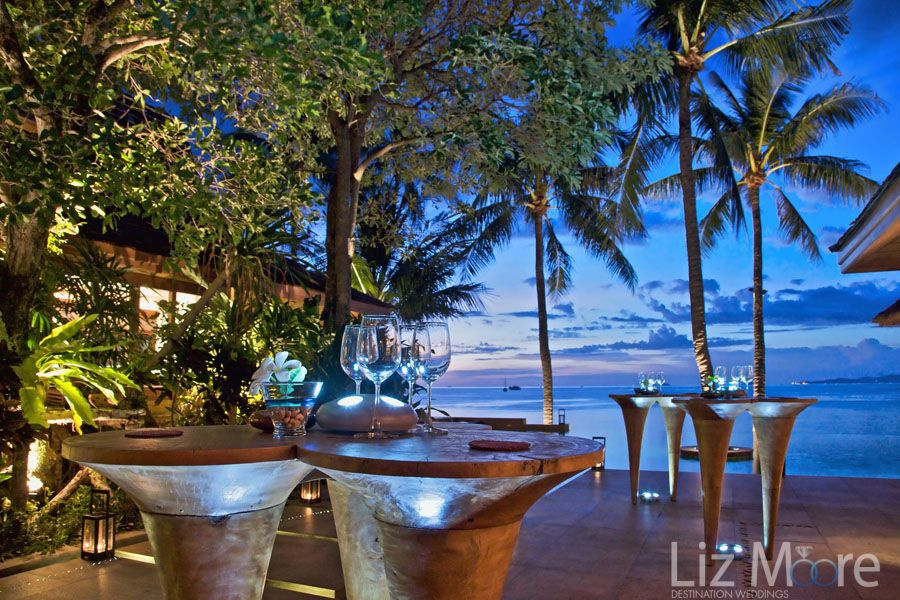Thailand Destination wedding reception venue