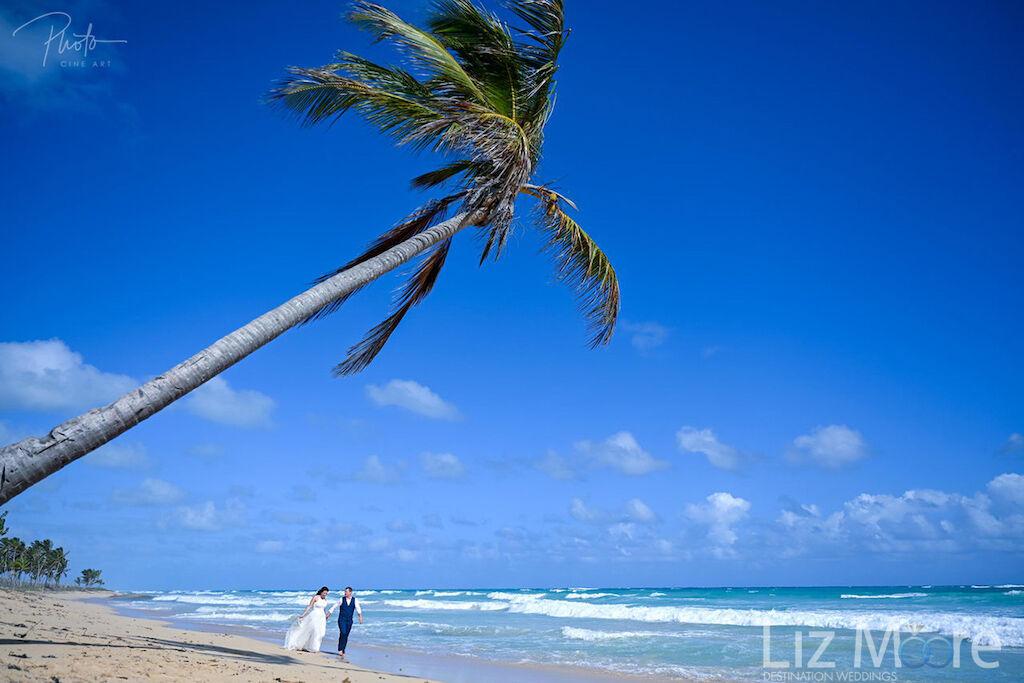 Tropical, white sand beach