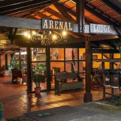 Arenal Lodge Front entrance Way