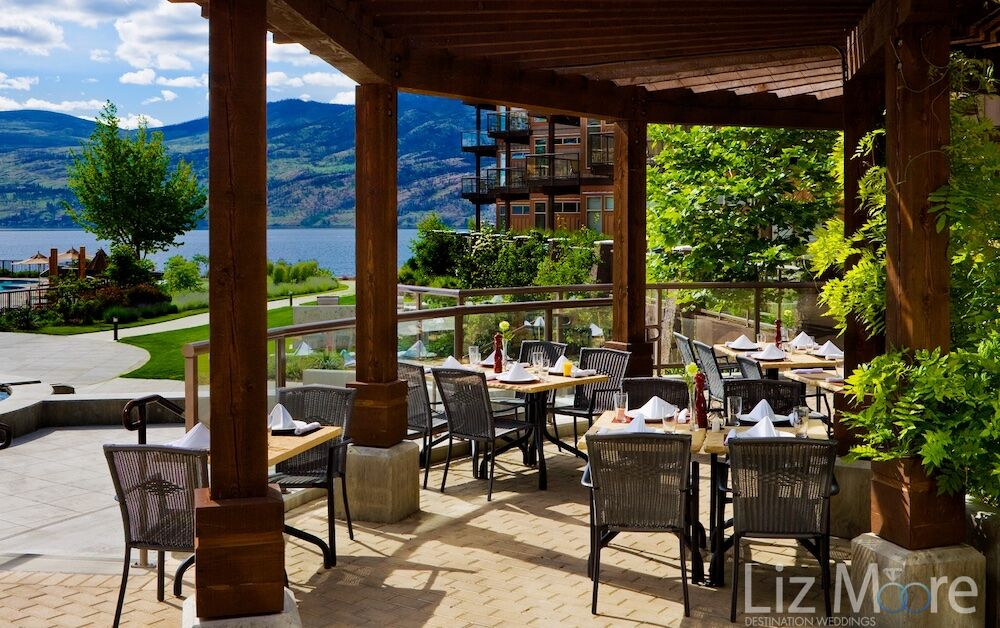 Gorgeous Lake Views. The Cove Lakeside Resort Dining.