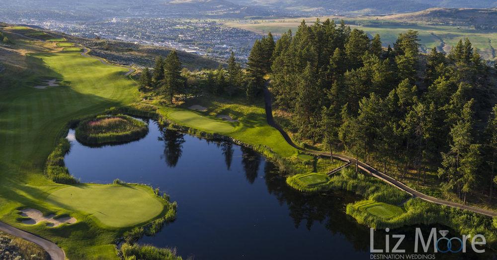 Vernon-The-Rise-Golf Club aeriel View