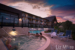 Summerland-Resort-main-pool-at night-with-guests-in-hottub