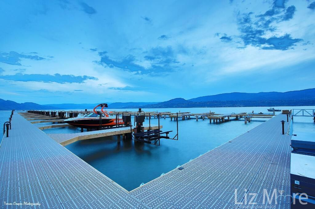 Outdoor talk and Marina located beside the resort