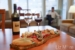 The-Cove-Lakeside-Resort-in-room-dining-with-wine