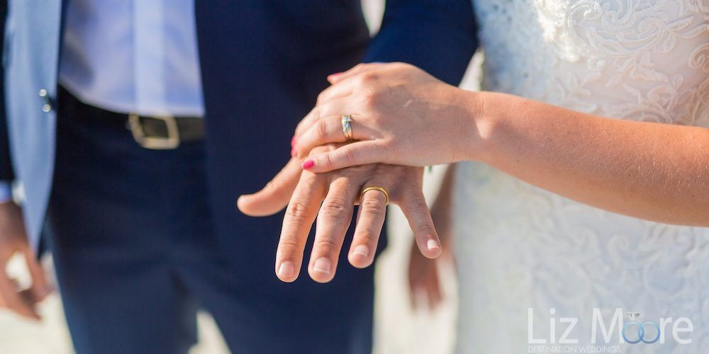 top tip is to Plan for a wedding picture of your rings